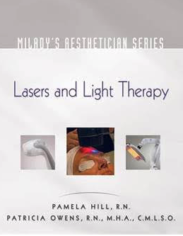 Tuition includes Milady's Aesthetician Series: Lasers & Light Therapy book.